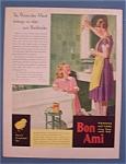 Vintage Ad: 1931 Bon Ami Powder & Cake Cleanser