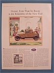 Click here to enlarge image and see more about item 10820: Vintage Ad: 1928 Ford Sport Coupe