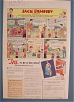 Click here to enlarge image and see more about item 10827: Vintage Ad: 1933 Wheaties w/ Jack Dempsey