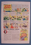 Click here to enlarge image and see more about item 10829: Vintage Ad: 1938 Wheaties w/ Myrna's Mistake