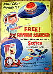 Vintage Ad: 1957 Scotch Cellophane Tape
