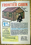 Click to view larger image of Vintage Ad: 1961 Frontier Cabin (Image1)