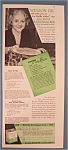 Vintage Ad: 1939 Wesson Oil w/ Mrs Rickenbacker