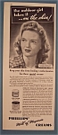 Vintage Ad: 1942 Phillips Cream w/ John R. Powers Model