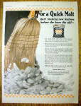 1925 Purina Chicken Chowder w/ Broom Sweeping Feathers