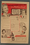 Vintage Ad: 1938 Certo with Madeleine Carroll