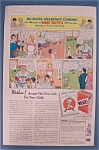 Click here to enlarge image and see more about item 10881: Vintage Ad: 1933 Wheaties w/Babe Ruth