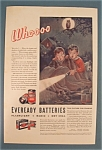 1933 Eveready Batteries with Two Scared Children