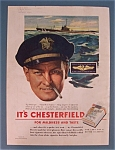 1943 Chesterfield Cigarettes w/ U. S. Submarine Service