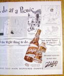 Click to view larger image of Vintage Ad: 1940 Schlitz Beer (Image3)
