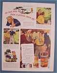 Click here to enlarge image and see more about item 10932: Vintage Ad: 1941 Ten High Whiskey