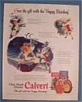 Vintage Ad: 1941 Calvert Whiskey
