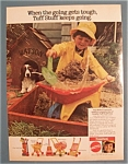Click here to enlarge image and see more about item 10960: Vintage Ad: 1979 Mattel Tuff Stuff Toys