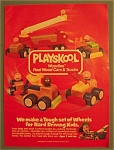 Click here to enlarge image and see more about item 10966: Vintage Ad: 1988 Playskool Woodles