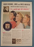 1940 Jergens Face Cream with Three Women's Faces