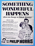 Click to view larger image of 1953 Philip Morris Cigarettes w/ Desi & Lucille Ball (Image1)