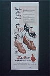 1947 Red Goose Shoes with Woman & Girl