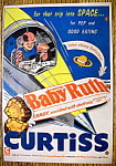 Vintage Ad: 1954 Curtiss Baby Ruth Candy Bar