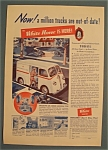 Click here to enlarge image and see more about item 11061: Vintage Ad: 1939 White Trucks