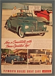 Click here to enlarge image and see more about item 11068: Vintage Ad: 1939 Plymouth