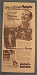 Vintage Ad: 1939 Bromo-Seltzer with Jack Purcell