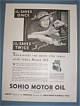 Click here to enlarge image and see more about item 11085: Vintage Ad:1932 Sohio Motor Oil
