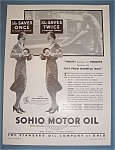 Click here to enlarge image and see more about item 11088: Vintage Ad:1932 Sohio Motor Oil