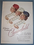 1939 Chesterfield Cigarettes with 3 Lovely Women