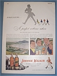 Click here to enlarge image and see more about item 11096: Vintage Ad: 1948 Johnnie Walker Whiskey