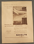 Click here to enlarge image and see more about item 11101: Vintage Ad: 1935 Bakelite
