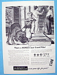 1952 Owens Corning Fiberglas Insulation w/Boy & Dog