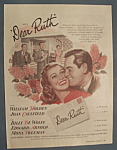 Vintage Ad: 1947 Movie Ad For Dear Ruth