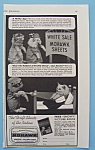 Vintage Ad: 1941 Mohawk Sheets & Pillow Cases