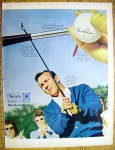 Click to view larger image of Vintage Ad: 1969 Sears Sports Center w/Arnold Palmer (Image3)