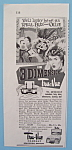 Click here to enlarge image and see more about item 11195: Vintage Ad: 1953 Tru Vue w/ Kukla, Fran & Ollie
