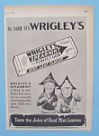 Click here to enlarge image and see more about item 11197: Vintage Ad: 1929 Wrigley's Spearmint Gum