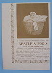 Vintage Ad: 1895 Nestle's Food