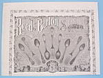 Click here to enlarge image and see more about item 11208: Vintage Ad: 1895 Reed & Barton Silversmiths