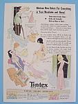 Vintage Ad: 1932 Tintex Tints & Dyes