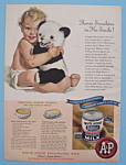 Click here to enlarge image and see more about item 11239: Vintage Ad: 1946 White House Evaporated Milk