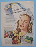 1946 Camay Soap with Stella Mikrut aka Mrs. Linder Jr