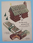Click here to enlarge image and see more about item 11255: Vintage Ad: 1953 Milky Way Candy Bar