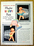 Click to view larger image of Vintage Ad: 1953 Playtex Happy Pants (Image1)