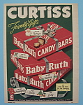 Click here to enlarge image and see more about item 11257: Vintage Ad: 1953 Curtiss Baby Ruth Candy Bar
