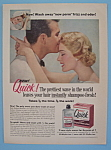 Vintage Ad: 1957 Richard Hudnut Quick Lotion
