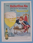 Click here to enlarge image and see more about item 11276: Vintage Ad: 1958 Ballantine Ale