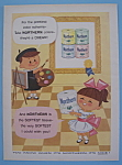 Click here to enlarge image and see more about item 11282: Vintage Ad: 1957 Northern Toilet Tissue