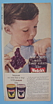Vintage Ad: 1957 Welch's Grape Jelly