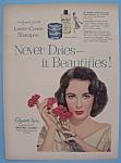 Vintage Ad: 1957 Lustre-Creme Shampoo w/Liz Taylor