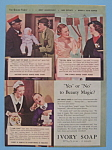 Vintage Ad:1934 Ivory Soap